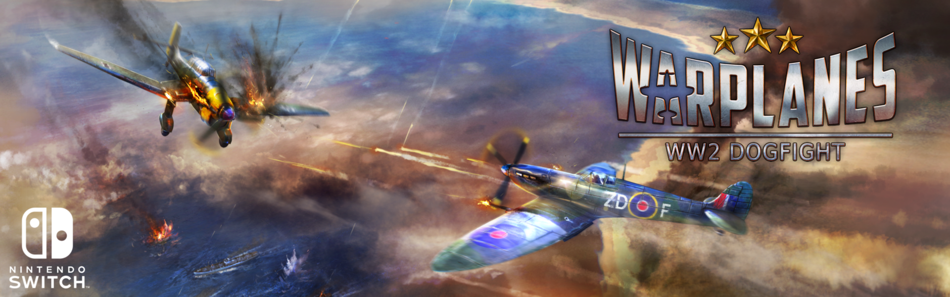 Plane Fighting Games >> Warplanes Ww2 Dogfight